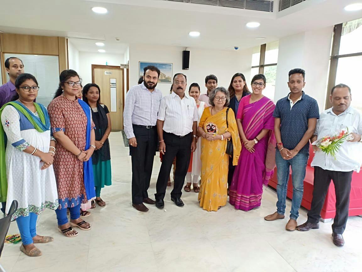 Visit of Rajmata