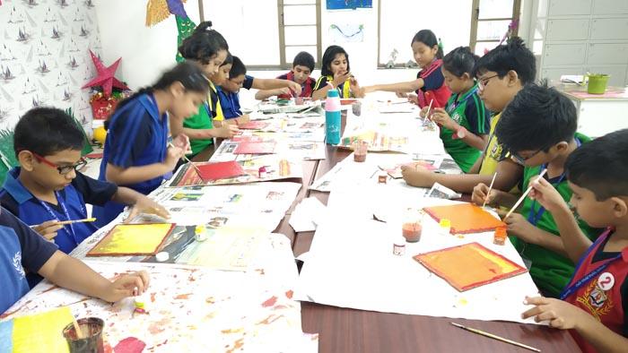 Diya Painting Activity